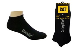 Bild von CAT Sneaker Socks Black 2er Set