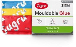 Bild von Sugru Mouldable Family-Safe 3-pack