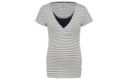 Bild von Noppies T-Shirt nursing Roos YD Stripe