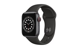 Bild von Apple Watch S6 40mm Spacegrau Alu