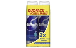 Bild von Gillette Rasiergel Series Sensitive Duo